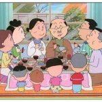 サザエさんの家系図!10年後に登場するヒトデとサンゴとは?