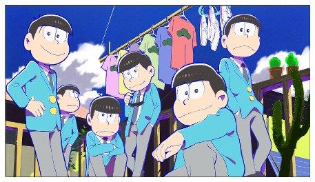 おそ松さん 六つ子 名前