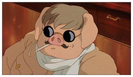 紅の豚 ポルコ 素顔