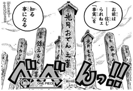 【引用元:ワンピース第918話】